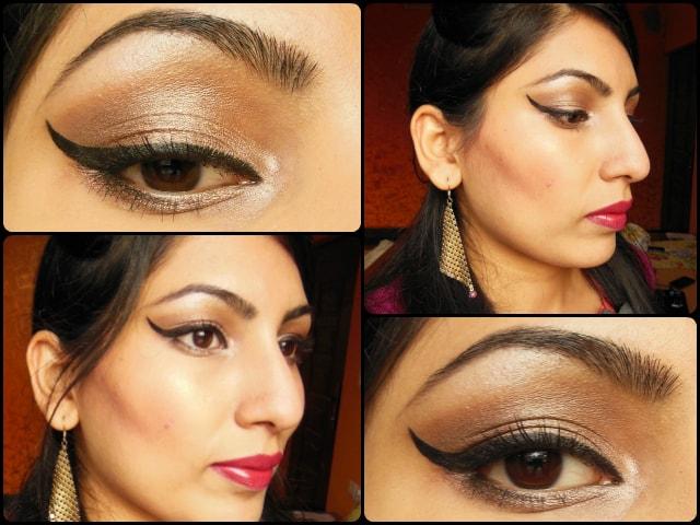Sonam Kapoor Cannes 2013 Inspired Eye Makeup Tutorial Look