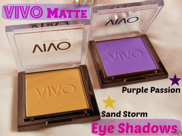 VIVO Matte Eye Shadows