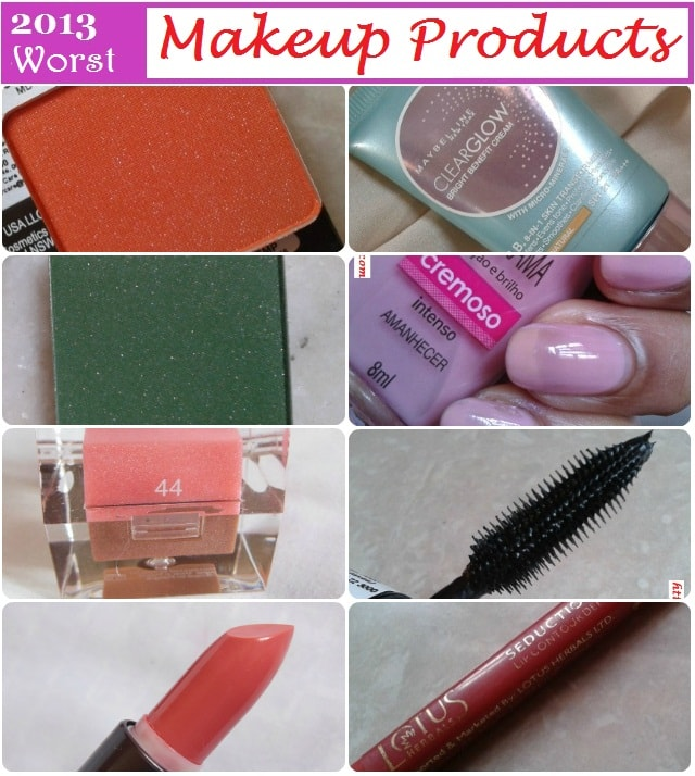 Worst of 2013 - Makeup Products