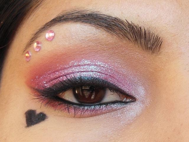 Eyes-O-Mania  Valentine Day Inspired Eye Makeup Look