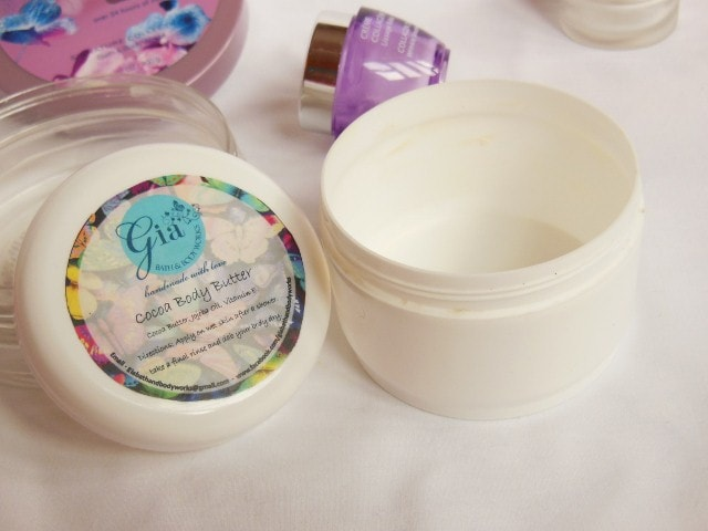 Finally Finished This Month - Gia Bath and Body Works Shea Body Butter