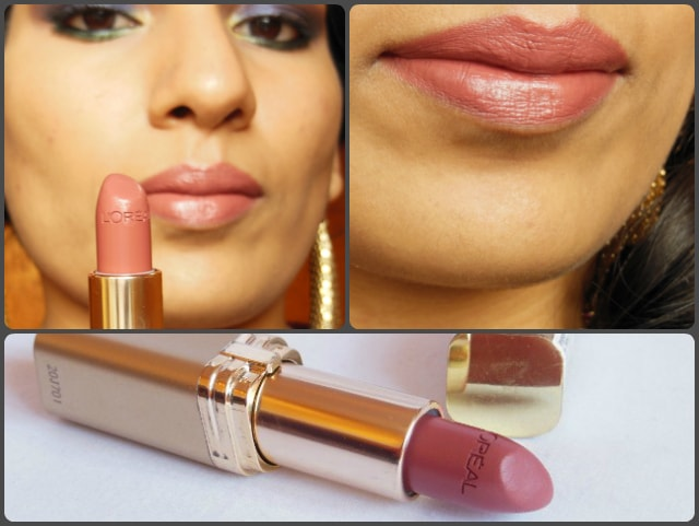 L'Oreal Color Riche Lipstick Tender Pink 114 Look