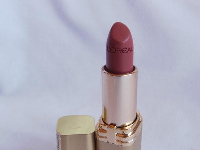 L'Oreal Paris Color Riche Lipstick Tender Pink 114 Review
