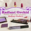Pantone Color Of the Year 2014 - Radiant Orchid Makeup