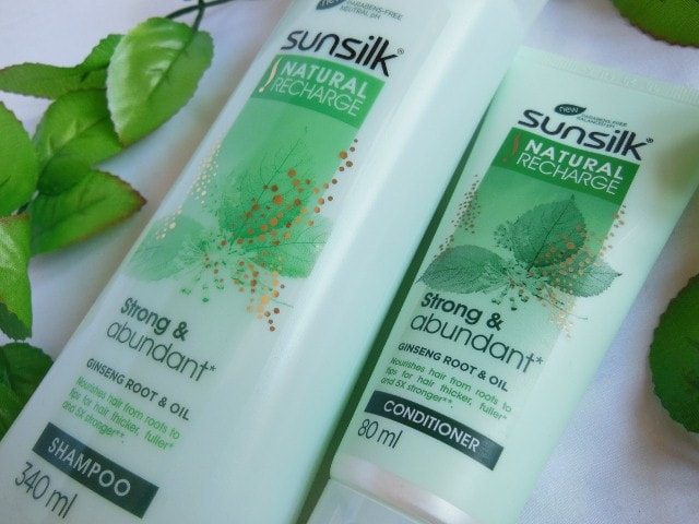 Sunsilk Natural Recharge Shampoo and Conditioner combo