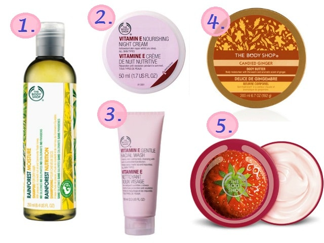 The Body Shop Bath and Body Products - Not Great