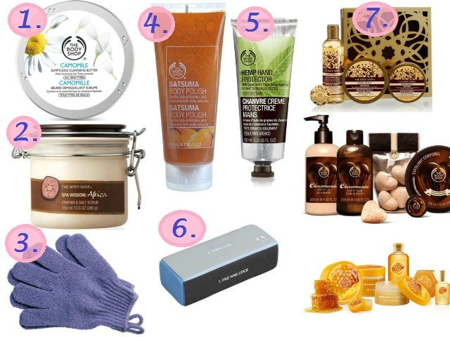 The Body Shop Must Have - Bath and Body Products