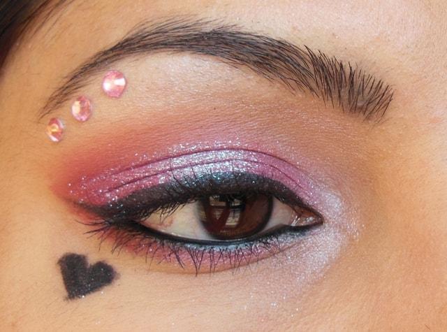 Valentine Day Inspired Eye Makeup