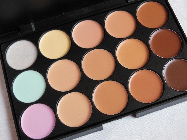 BornPrettyStore Concealer Palette  15 Shades Review