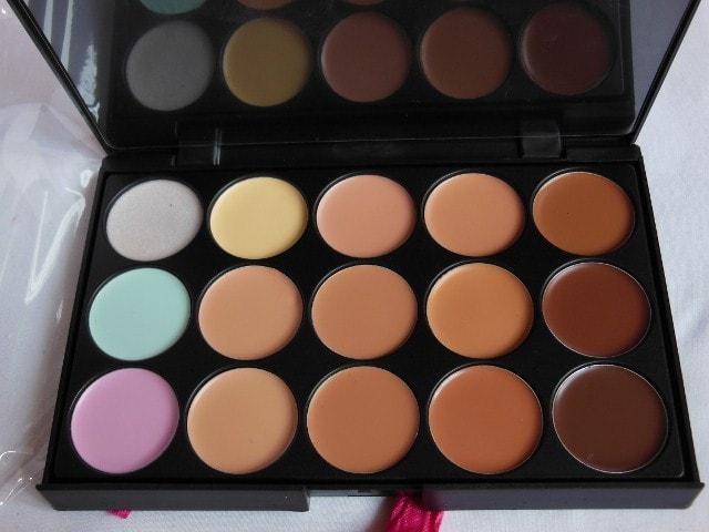 BornPrettyStore Concealer Palette Review