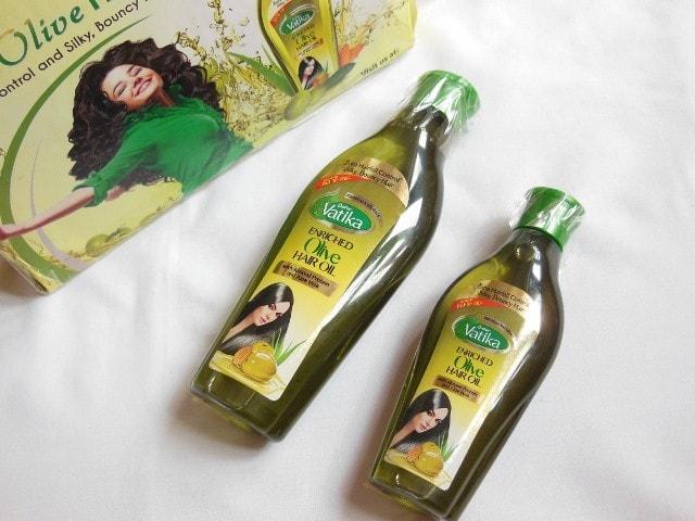 Dabur Vatika Enriched Olive Hair Oil Pack
