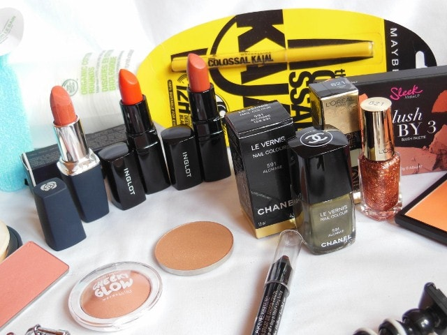 February Makeup Haul -CHANEL, MAC, SLEEk, INGLOT, The Body Shop, Chambor