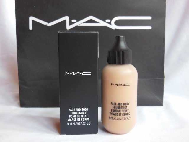 February Makeup Haul- MAC Face and Body Foundation