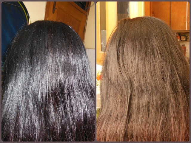 Godrej Creme Rich Hair Color Results