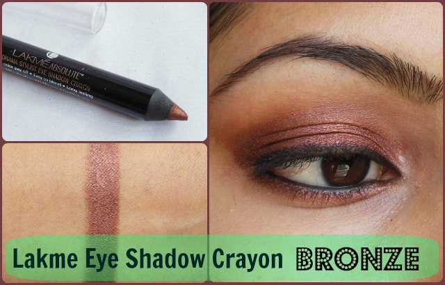 Lakme Absolute Drama Stylist Eye Shadow Crayon Bronze Look
