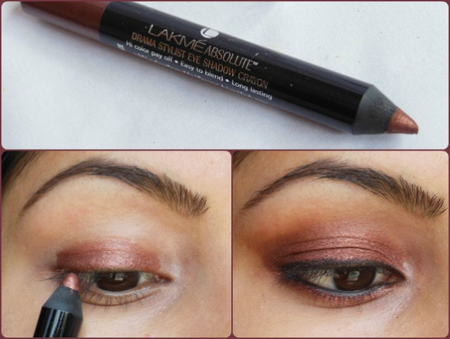 Lakme Absolute Eye Shadow Crayon Bronze Eyes
