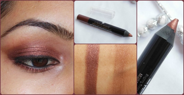 Lakme Eye Shadow Crayon Bronze EOTD