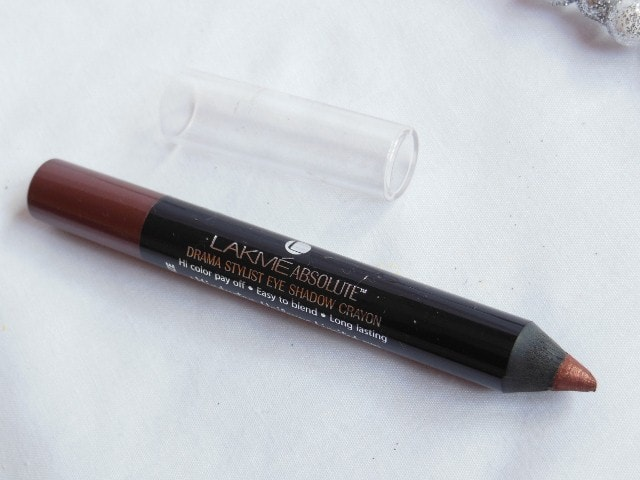 Lakme Eye Shadow Crayon Bronze Review