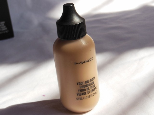 MAC Face and Body C4 Foundation Review