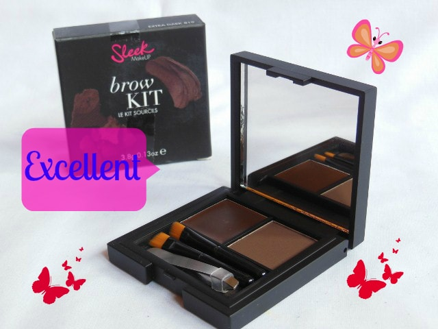 Makeup MarkSheet -Excellent - Sleek Eye Brow Kit Extra Dark