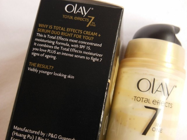 Olay Total Effects 7 in 1 Cream + Serum Duo Claims
