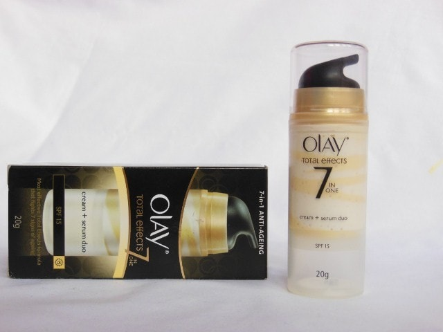 Olay Total Effects 7 in 1 Cream + Serum Duo SPF 15