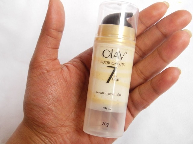 Olay Total Effects Cream + Serum Duo Review