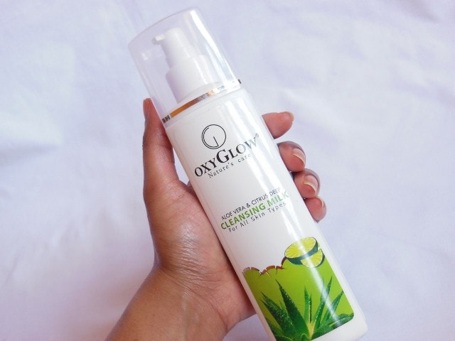 OxyGlow Nature's Glow AloeVera Deep Cleansing Milk