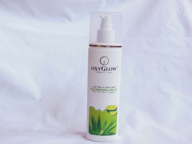 OxyGlow Nature's Glow Cleansing Milk