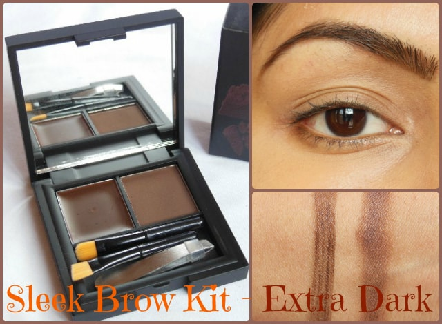 Sleek Makeup Brow Kit: Extra Dark 819 Review, Swatch, FOTD ...