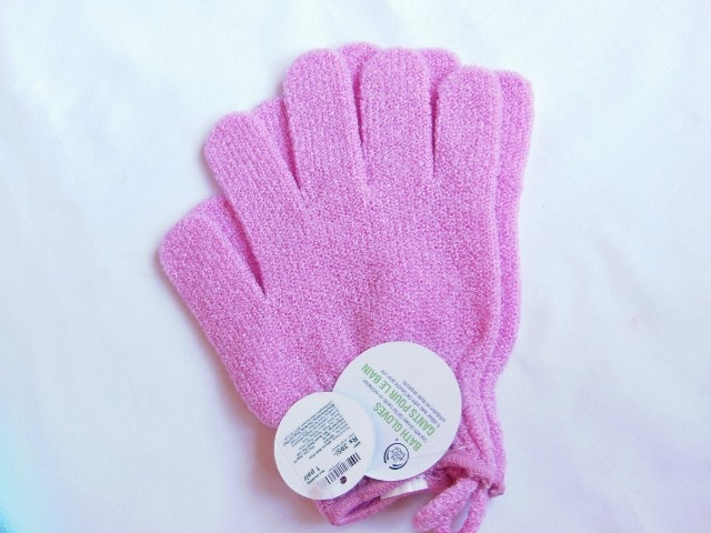 The Body Shop Bath Exfoliation Gloves
