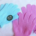 The Body Shop Exfoliation Pink Gloves