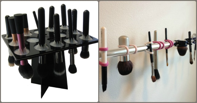 Makeup Tips - How to Clean Makeup Brushes - Right way to dry brushes