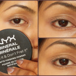 Makeup Tips - Make Eyeliner Smudge-proof using Loose Powder