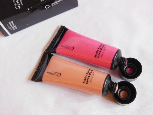 Oriflame Cream Blushes Review