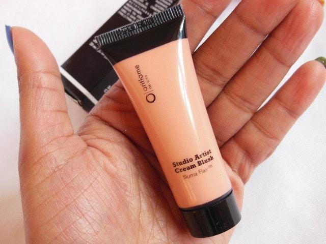 Oriflame Studio Artist Cream Blush Soft Peach Review