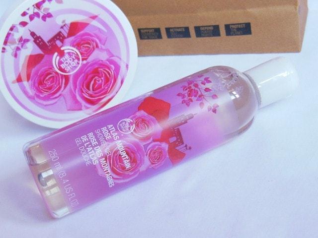 TBS Atlas Mountain Rose Shower Gel