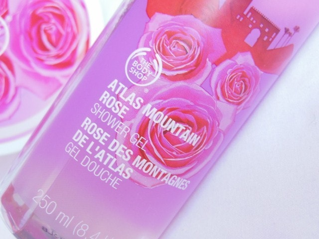 The Body Shop Atlas Mountain Rose Shower Gel