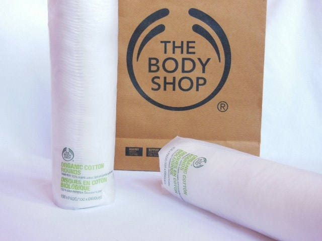 The Body Shop Organic Cotton Rounds Review
