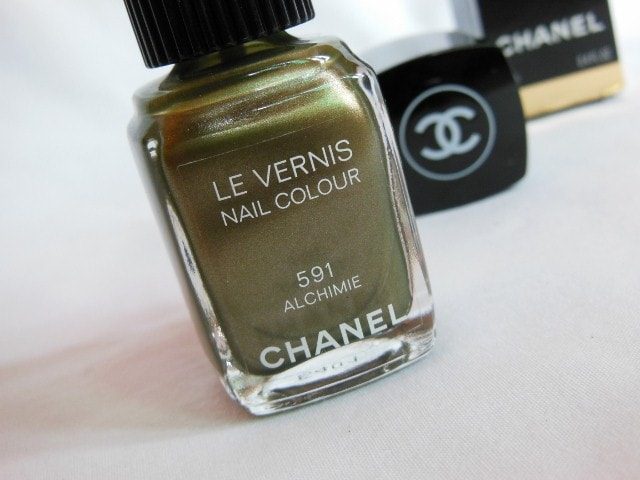 CHANEL Le Vernis Nail Color Alchimie #591