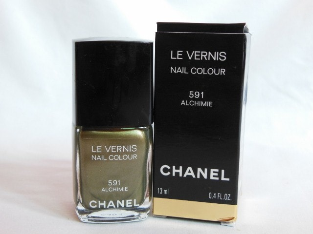 CHANEL Le Vernis Nail Color Alchimie Review