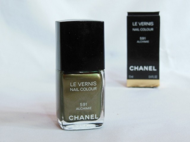 CHANEL Le Vernis Nail Color Alchimie