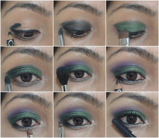 Eye Makeup Tutorial -Orchid Garden