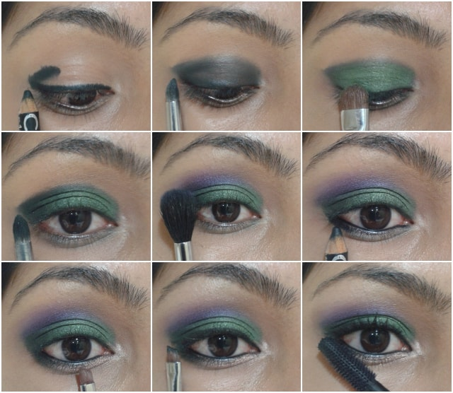 Eye Makeup Tutorial -Orchid Garden