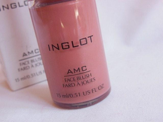 INGLOT AMC Face Blush #81 Review