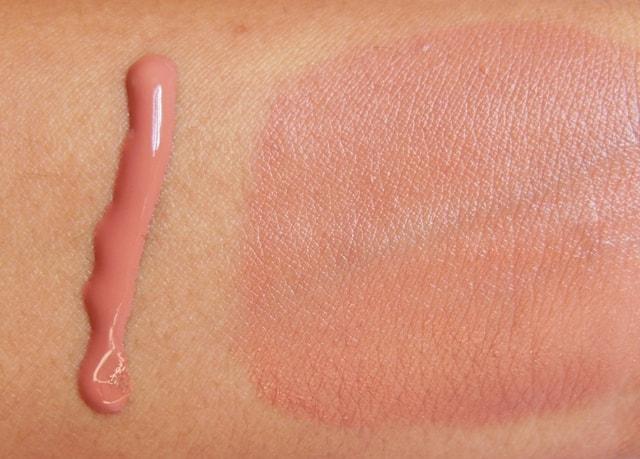 INGLOT AMC Liquid Face Blush #81 Swatch