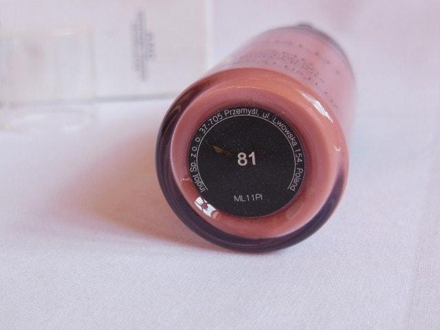 INGLOT Liquid Face Blush #81 Review