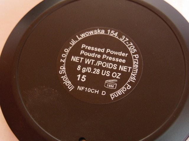 INGLOT Pressed Powder 15