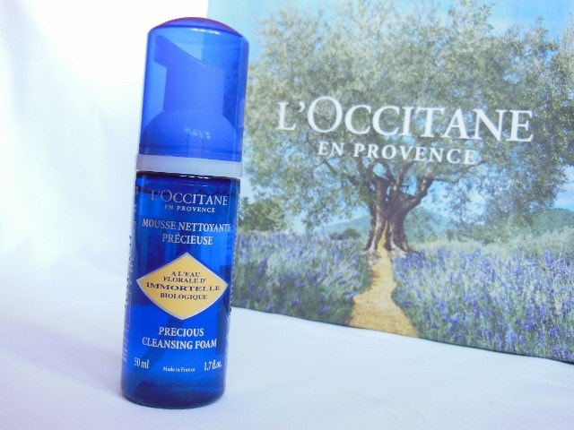 L'Occitane Immortelle Face Wash Review