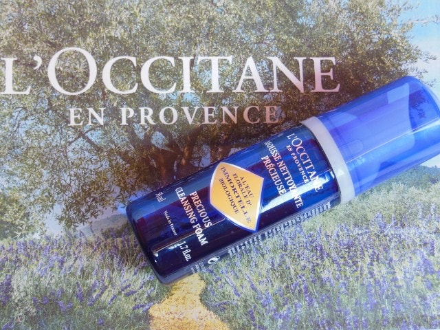 L'Occitane Immortelle Facial Foam Review